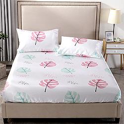 Grace Life 輕描時光 單人可水洗涼感絲床包兩件組
