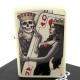 ZIPPO 美系~Skull King Queen Beauty-撲克骷髏國王與皇后設計 product thumbnail 1