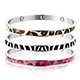 &MORE愛迪莫 鍺手環 時尚DNA(動物紋系列)