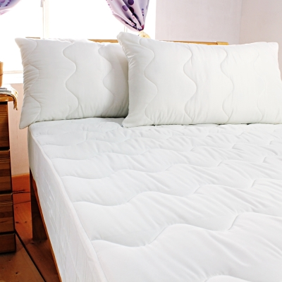 bedtime story專利3M防潑水床包式保潔墊-雙人加大6x6.2尺