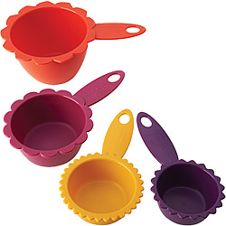 KitchenCraft 花型四色量杯組