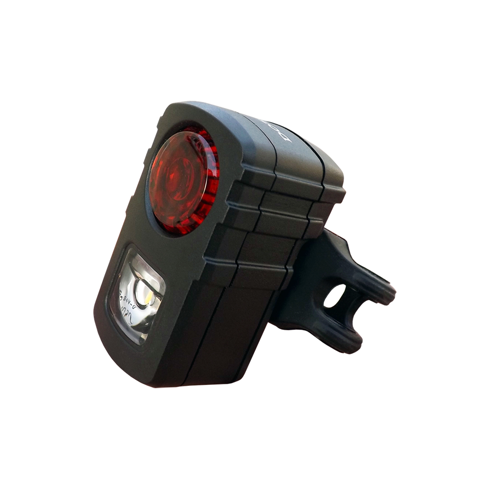 DOSUN AR01 EYES USB充電式自行車警示燈 黑色