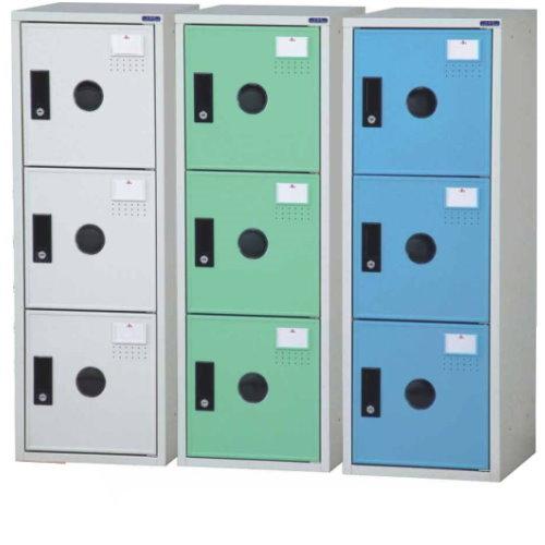 金吉全鋼製門片置物櫃(三色)