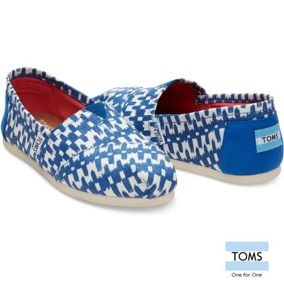TOMS 土耳其海洋織染懶人鞋-女款