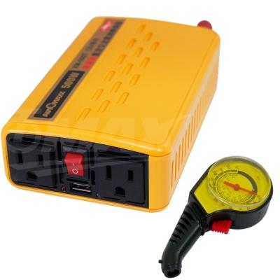 omax台製專業級500W+USB汽車電源轉換器+高級胎壓表