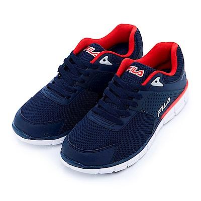FILA 男慢跑鞋-丈青 1-J302S-312