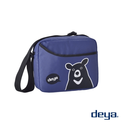 deya熊側背包-寶石藍