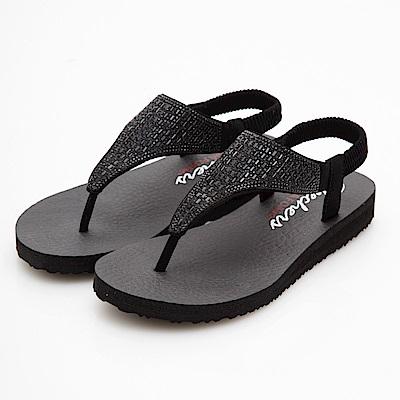 SKECHERS(女)時尚休閒系列MEDITATION涼鞋-31560BBK