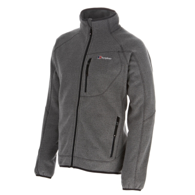 【Berghaus貝豪斯】男款刷毛保暖外套H22MR4-灰