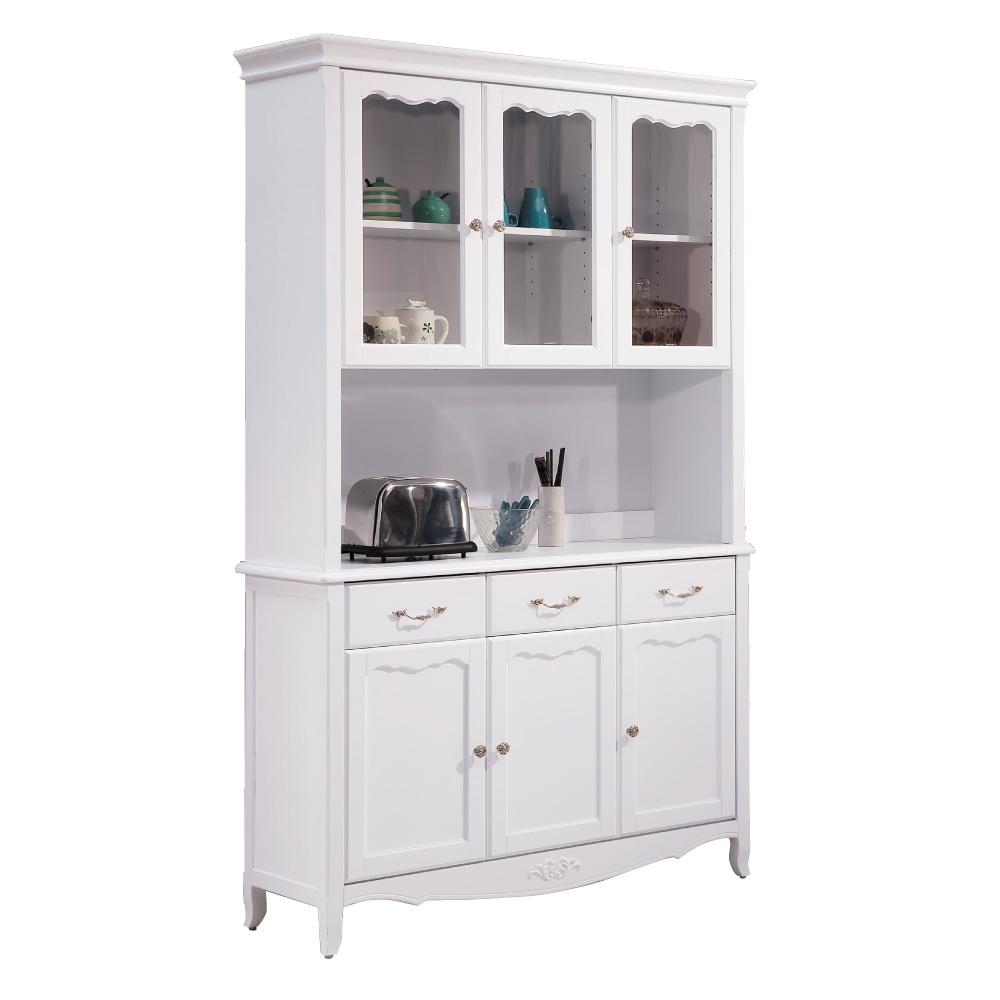 品家居 布斯特4尺餐櫃組合-120x41x205cm免組