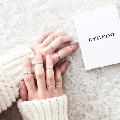 ArFFi-艾菲-韓系潮人指定簡約寬細戒指