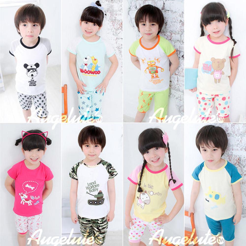 【baby童衣】A~D款 居家短袖五分褲套裝 31151(共8色)