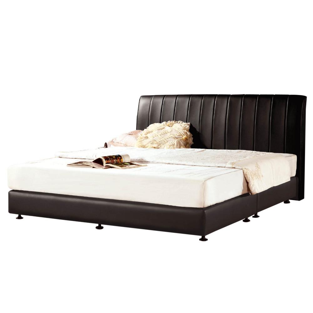 【ROSA羅莎】亞戴蒙黑色5尺雙人床(不含床墊)