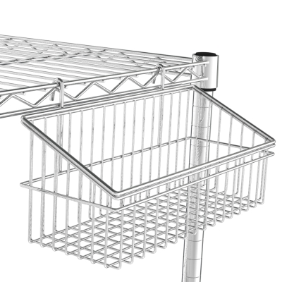 海克力士 鐵架專用方型斜口小掛籃