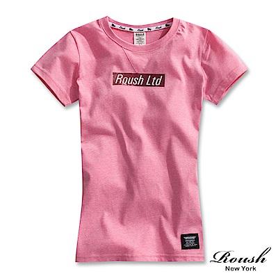 ROUSH 女生Roush Ltd潮流短TEE(3色)