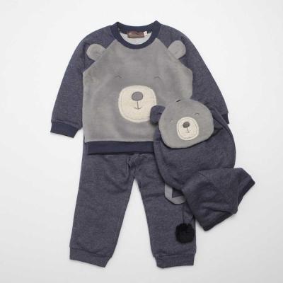 PIPPY 溫暖小熊套裝禮盒 藍