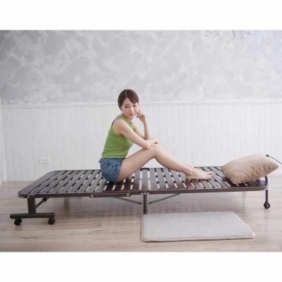 折疊床 桐木無段式單人折疊床 Simple Life