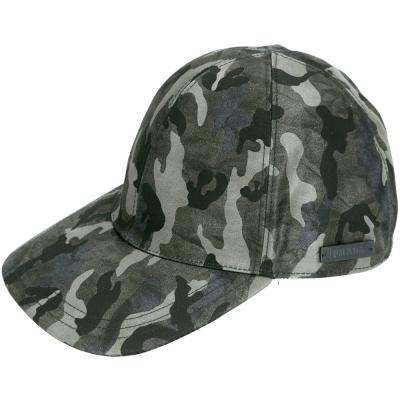 PRADA 刷色迷彩印花鴨舌帽(綠色) @ Y!購物