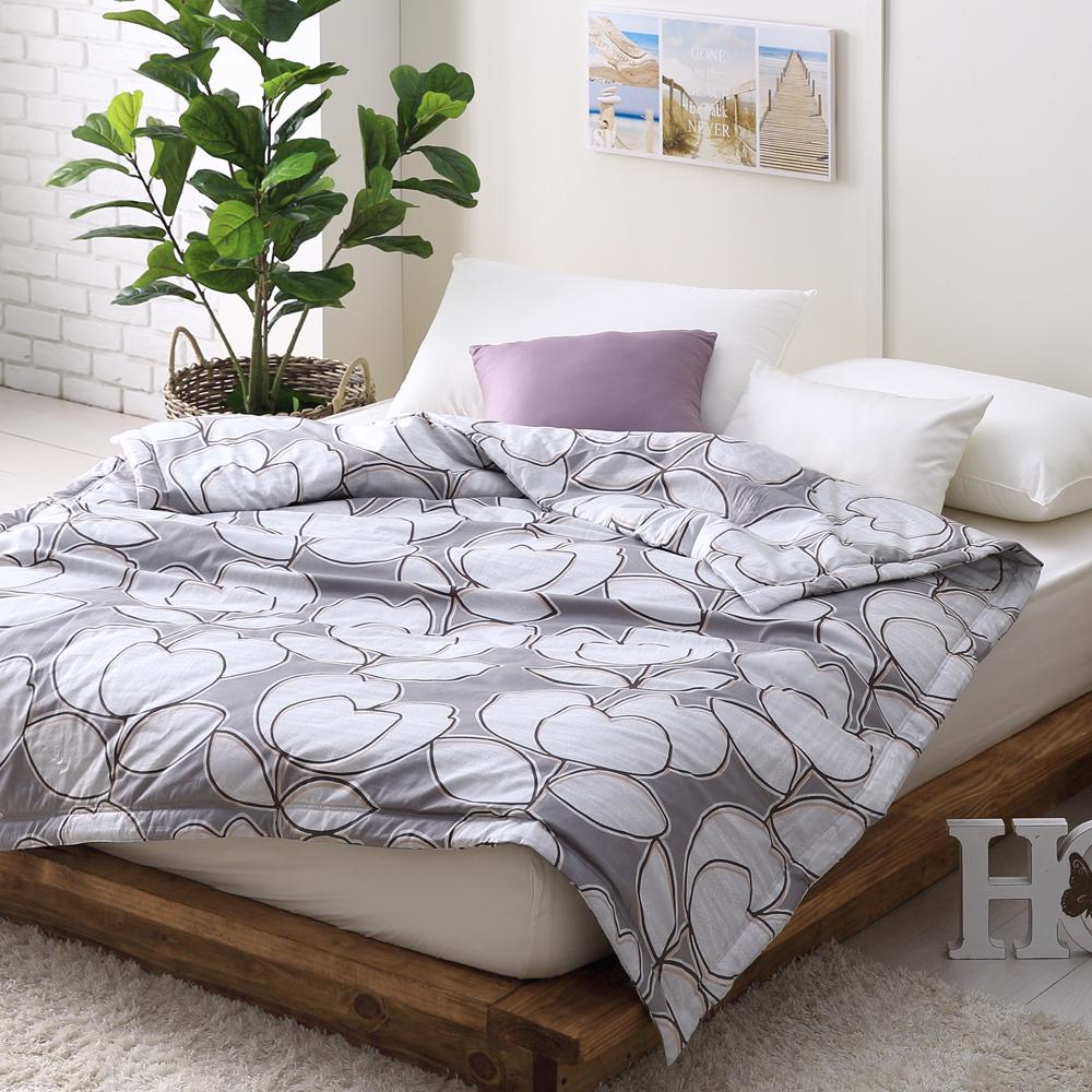 Cozy inn 花趣-200織精梳棉-涼被(5X6尺)