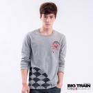 BIG TRAIN-朱雀烈焰發熱TEE-深灰