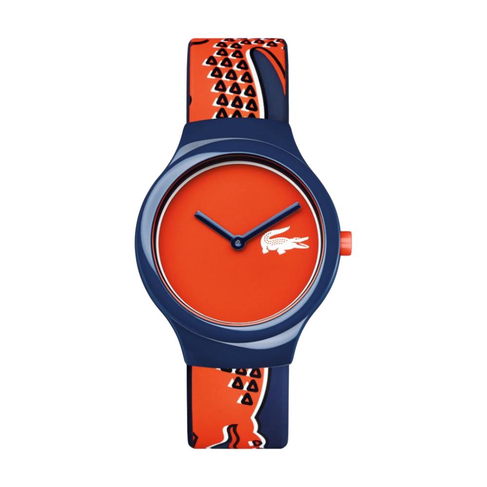 Lacoste Goa 鱷魚法式玩色運動時尚錶-藍/40mm @ Y!購物