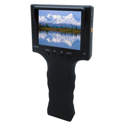 奇巧CHICHIAU 工程級3.5吋手持式網路/影音訊號顯示器