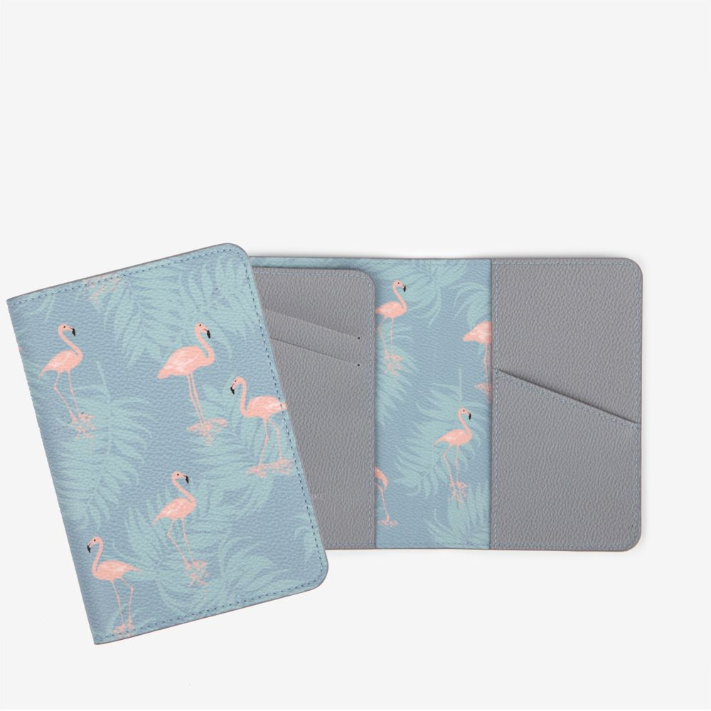 Dailylike 美好生活皮革護照套-06 紅鶴