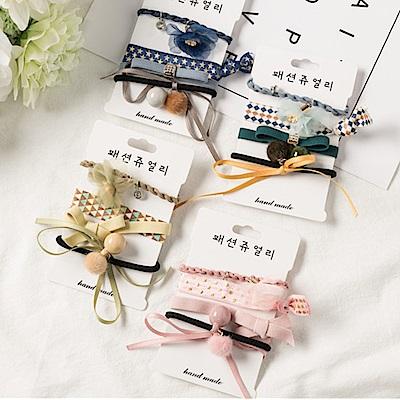 Hera 赫拉 韓國新款蝴蝶結飄帶流蘇髮繩-4色