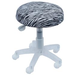 COLOR 黑白斑馬工作吧檯椅
