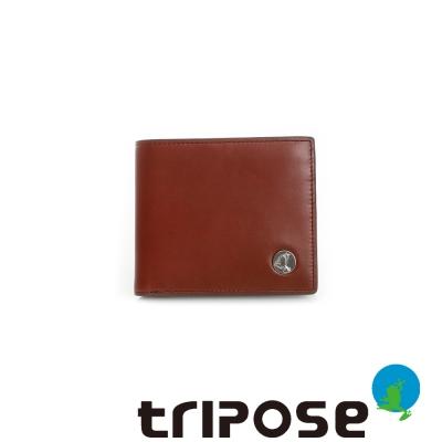 tripose  Yuppie系列零錢袋男短夾 - 咖