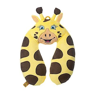 Go Travel 動物造型U型枕-長頸鹿