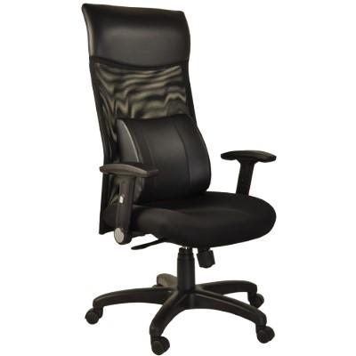 尊爵護腰高背透氣網布電腦椅/辦公椅