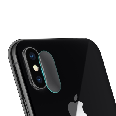 For iPhone X 鏡頭防刮保護貼 (3入一組)