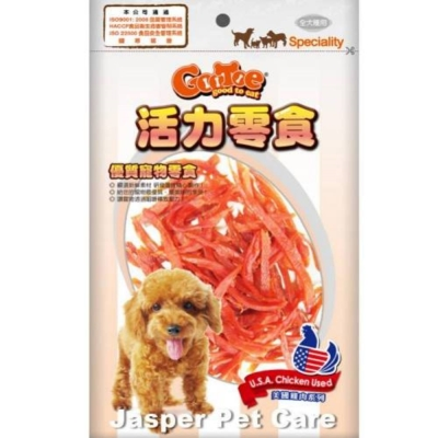 GooToe活力零食 雞胸軟肉條 130g《CR90》