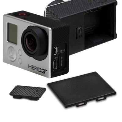 GoPro HERO 3 3副廠電池蓋攝像機側蓋防塵保護組