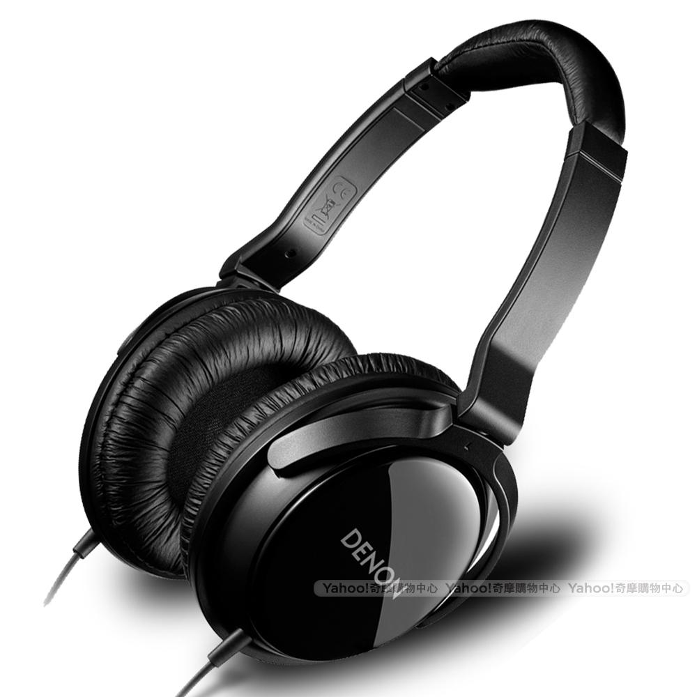 DENON AH-D310 Over-Ear Headphone 耳罩耳機 晶鑽黑