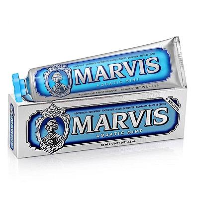 MARVIS 海洋薄荷牙膏 藍色85ml-快速到貨