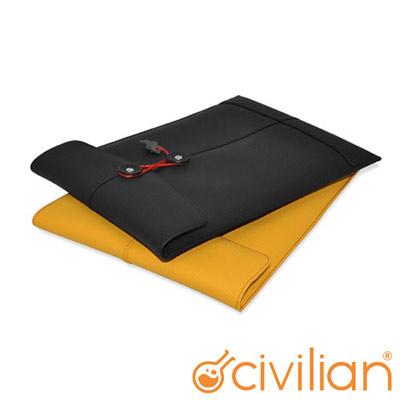 Civilian Lab 典雅真皮信封型 MBA 11.6吋內袋(共兩色)