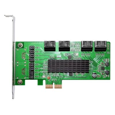 伽利略 PCI-E  2 X SATAIII  8 埠(PES 308 A)