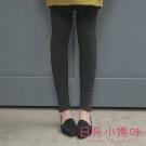 日系小媽咪孕婦裝-韓製孕婦褲~內磨毛暖感顯瘦內搭褲 L-XL (共二色)