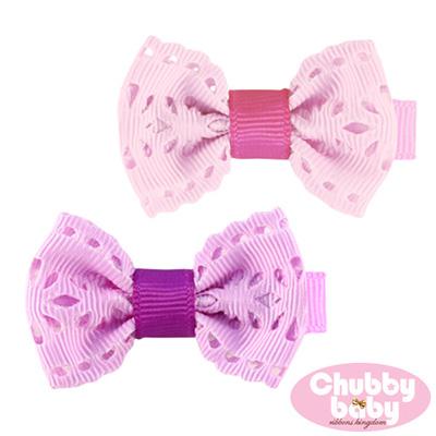 Chubby Baby巧比貝比 兒童寶寶髮夾Lace(A)