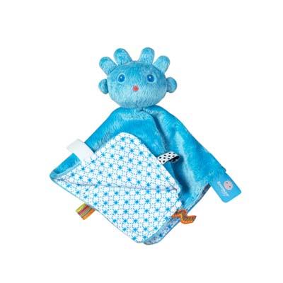【荷蘭Snoozebaby】外星寶寶安撫標籤手偶 / 粉藍