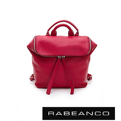 RABEANCO 三角立體多WAY包 -蜜唇紅