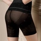 華歌爾 美姿褲系列64-82高腰長褲管修飾褲(魅惑黑)