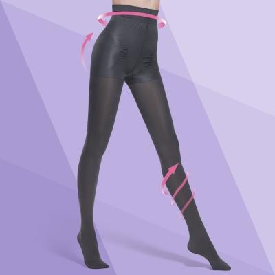 Bast-芭絲媞-塑身-纖柔極塑美腿襪-優雅灰