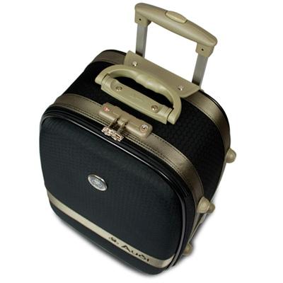 【Audi 奧迪】25吋新蜂巢格8輪360度~Audi旅行箱行李箱LT-71525-黑