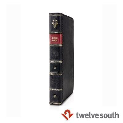 Twelve South BookBook iPhone 6復古書仿舊皮革保護套-黑色