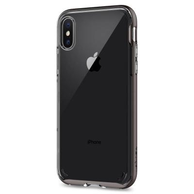 Spigen iPhone X Neo Hybrid CC-複合式邊框透明保護殼