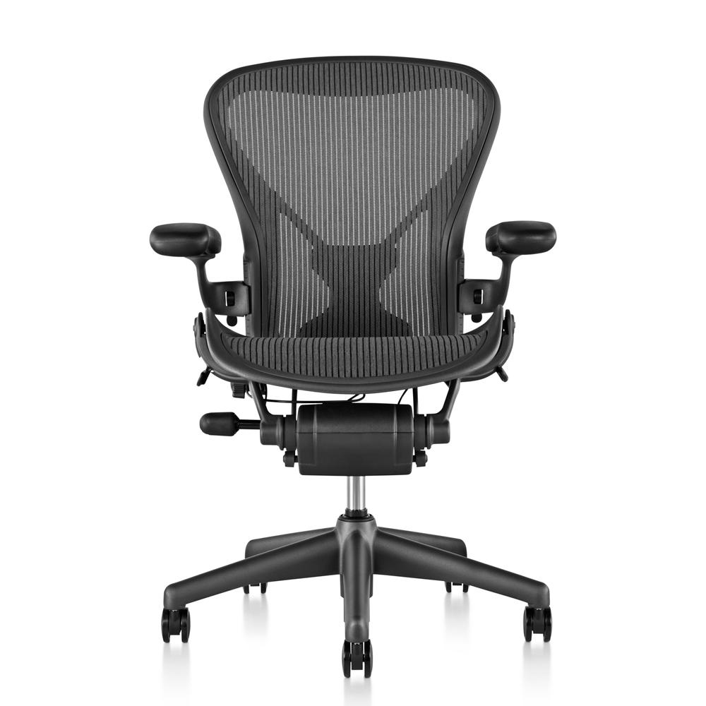 Herman Miller Aeron 全功能人體工學電腦椅-大