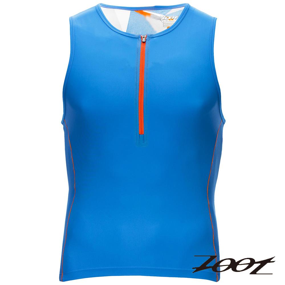 ZOOT 專業級半拉式鐵人上衣(男) Z1606025(晶鑽藍)